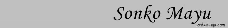 sonkomayu.comタイトルバナー